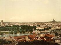 Potsdam, Stadtansicht / Foto 1898 von AKG  Images
