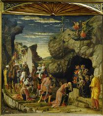 Mantegna, Anbetung der Koenige von AKG  Images