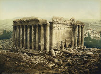 Baalbek, Bacchustempel / Photochrom by AKG  Images