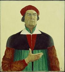 Kasimir Malewitsch, Selbstbildnis 1933 von AKG  Images