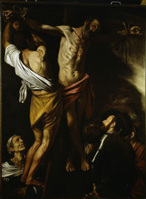Caravaggio, Kreuzigung des Andreas by AKG  Images