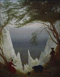 C.D.Friedrich, Kreidefelsen auf Ruegen von AKG  Images
