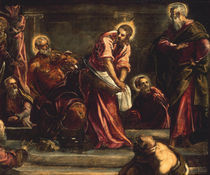 Tintoretto, Die Fusswaschung by AKG  Images
