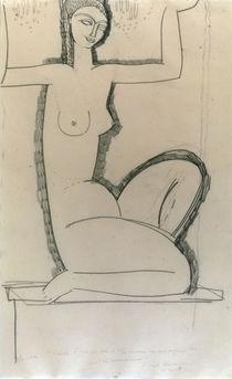 A.Modigliani, Caryatide au chandeliers by AKG  Images