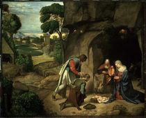 Giorgione, Anbetung der Hirten by AKG  Images