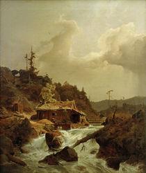 A.Achenbach, Norwegische Landschaft von AKG  Images