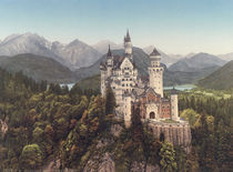 Schloss Neuschwanstein / Photochrom by AKG  Images