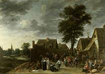 D.Teniers d.J., Kirmes im Wirtshaus von AKG  Images