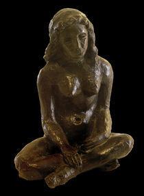 A.Macke, Sitzende / Bronze, 1912 von AKG  Images
