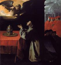 Zurbaran, Der hl.Bonaventura im Gebet von AKG  Images