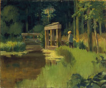 E.Manet, In einem Park by AKG  Images