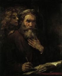 Rembrandt, Evangelist Matthaeus by AKG  Images