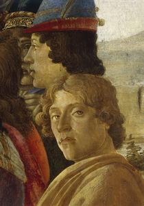 Botticelli, Anbetung Koenige, Ausschnitt von AKG  Images