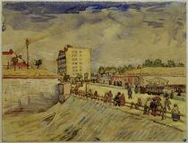 V.van Gogh, Pariser Stadttor von AKG  Images