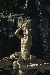 Rom, Fontana del Tritone / Foto von AKG  Images