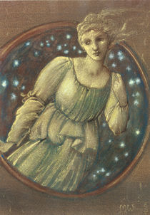 E.Burne Jones, Sternennymphe (Kallisto) by AKG  Images