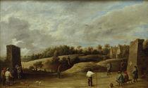David Teniers d.J., Beim Bogenschiessen von AKG  Images