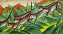 Franz Marc, Affenfries by AKG  Images