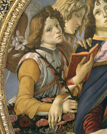 Botticelli, Engelgruppe by AKG  Images