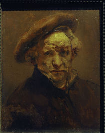 Rembrandt, Selbstbildnis 1659 by AKG  Images