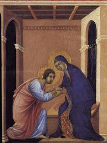 Duccio, Abschied Mariae von Johannes by AKG  Images