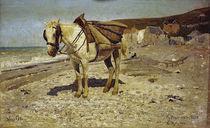I. Repin, Pferd zum Steinefahren by AKG  Images