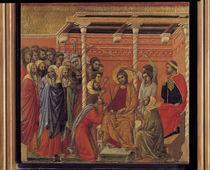 Duccio, Dornenkroenung by AKG  Images