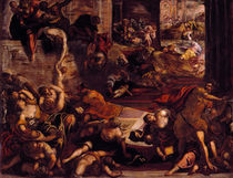 Tintoretto, Bethlehemit.Kindermord by AKG  Images