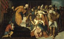 J.Tintoretto, Esthers Ohnmacht von AKG  Images