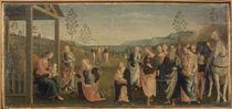 Perugino, Anbetung der Koenige von AKG  Images