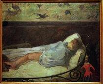 P.Gauguin, Die kleine Traeumerin von AKG  Images