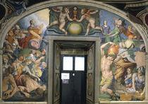 A.Bronzino, Moses schlaegt Wasser u.Manna by AKG  Images