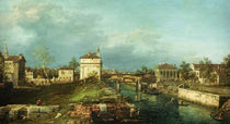 Padua, Porta Portello / Canaletto by AKG  Images