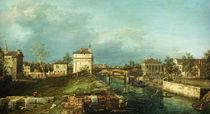 Padua, Porta Portello / Canaletto von AKG  Images