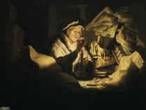 Rembrandt/ Der Geldwechsler/ 1627 von AKG  Images