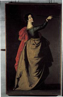 F.Zurbaran, Hl.Ursula by AKG  Images