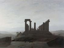 C.D.Friedrich, Junotempel Agrigent/1830 by AKG  Images