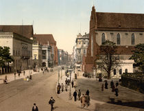 Breslau, Schweidnitzer Strasse/Photochrom von AKG  Images