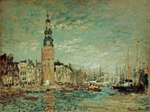 C.Monet, Montelbaanstoren von AKG  Images