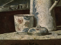 J.B.S.Chardin, Rauchnecessaire / Detail by AKG  Images
