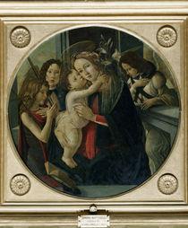 Botticelli, Maria mit Kind, Johannes... von AKG  Images