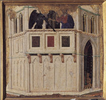 Duccio, Versuchung Christi by AKG  Images