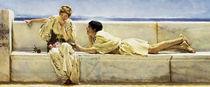 L.Alma Tadema, Eine Frage by AKG  Images