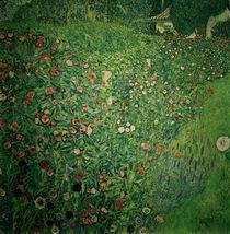 Gustav Klimt, Italien. Gartenlandschaft von AKG  Images