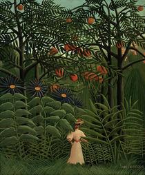 H.Rousseau, Femme se promenant.. by AKG  Images
