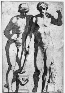N.Poussin, Antikenstude nach Ildefonso von AKG  Images
