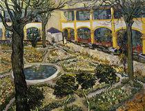 V.van Gogh, Garten des Hospitals in Arl. von AKG  Images