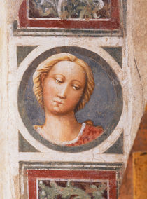 Masaccio, Bildnismedaillon weiblich von AKG  Images