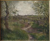 C.Pissarro, Feldweg, Cote des Grouettes by AKG  Images