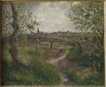 C.Pissarro, Feldweg, Cote des Grouettes von AKG  Images